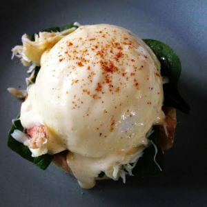 The glorious Crab Benedict